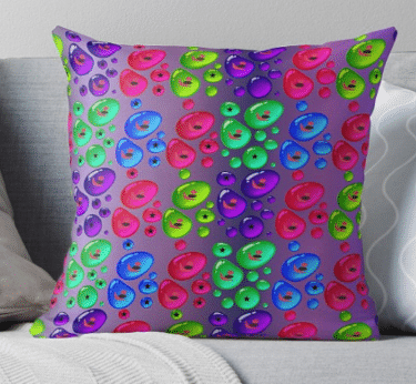 throw pillow colorful