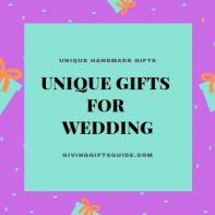 Awesome Unique Gifts For Wedding Couples They'll Remember