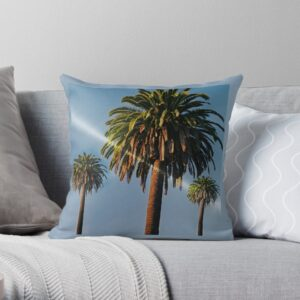 Palm Trees Decorative Pillows For Bed